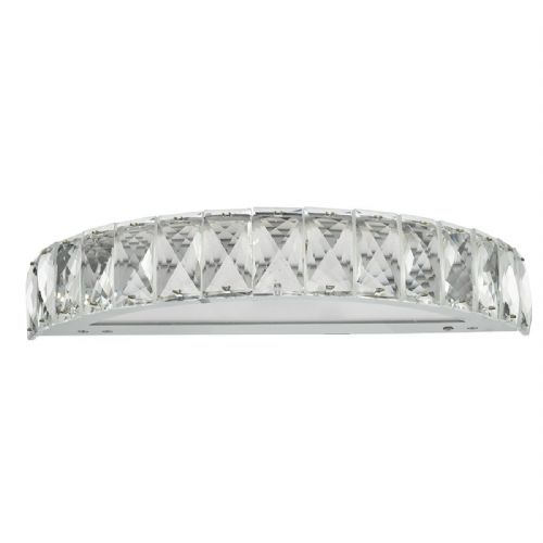 Wonder Wall Light Polished Chrome Clear Crystal LED (Class 2 Double Insulated) BXWON0750-17